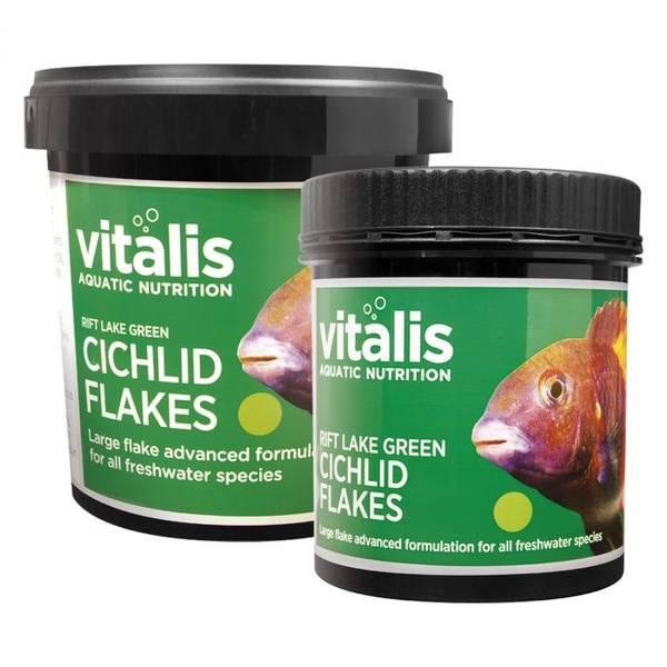 Bilde av Vitalis Rift Lake Green Cichlid flak - 90 gram