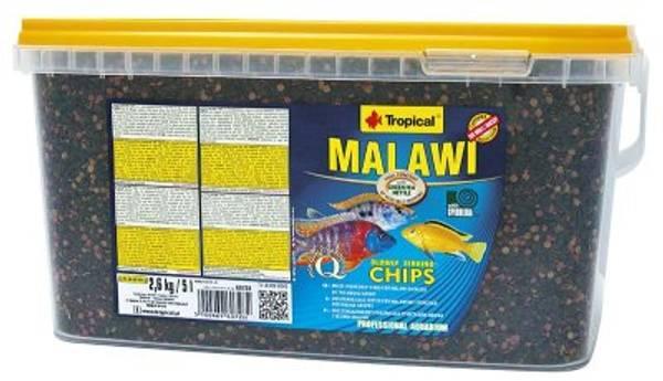 Bilde av TROPICAL MALAWI CHIPS 5L/2.6KG